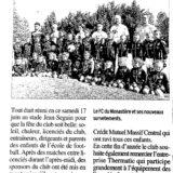 article centre presse foot nutritionniste monastere