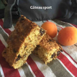 Gâteau sport proposé par Cécile Michaud diététicienne nutritionniste