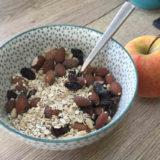 Muesli maison sans sucres ajoutés par Cécile Michaud diététicienne nutritionniste