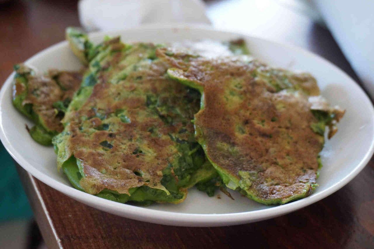 Recette de galette de feuilles de blettes et persil, farçous légers