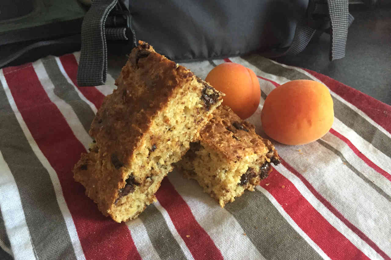 Gâteau pour sportif d'endurance ou petit déjeuner