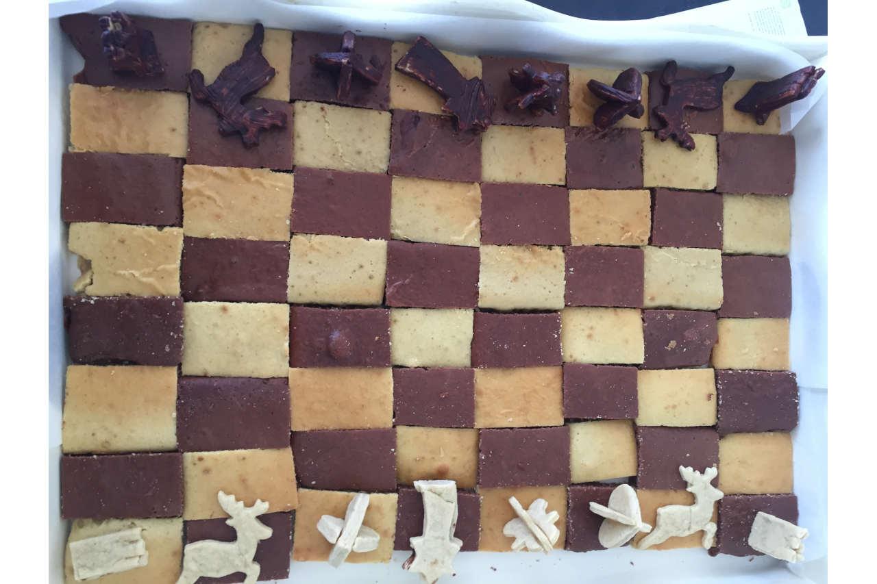 Gâteau d'anniversaire jeu d'échecs - Cécile Michaud diététicienne - maigrir sainement